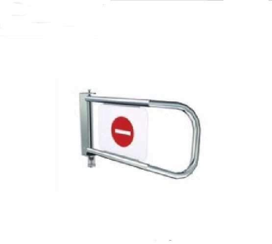 Stainless Steel Supermarket Swing Gate Mechanical Access Swing Barrier Gate